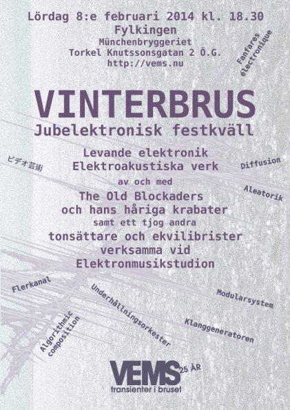 Vinterbrus - Jubelektronisk festkväll