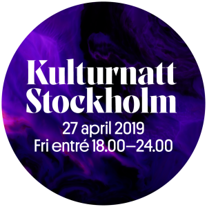 Kulturnatt Stockholm 2019